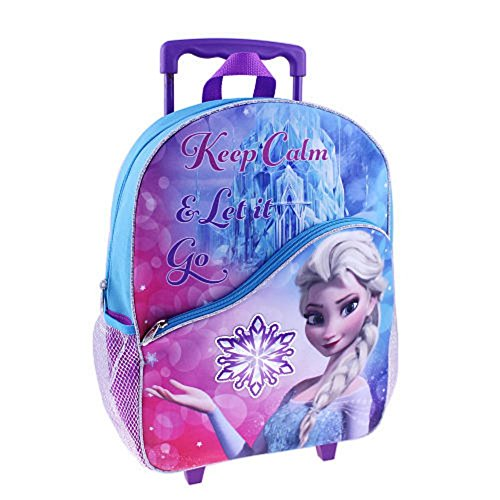 Disney Frozen Large Rolling Backpack 16