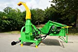 NOVA TRACTOR BX102R Model 9' Wood Chipper Shredder, for Tractor from 50 to 120HP
