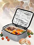 Personal Portable Oven for Prepared Meals Reheat, Mumba 48W Electric Slow Cooker Food Warmer Oven, Takes 2-3 hours to Max Temperature 176°F, Up to 8.75'W x 6.75'L x 2.5'H Container Applicable
