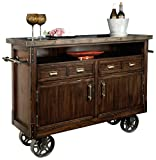 Product review for Howard Miller Barrow Wine and Bar Storage Console