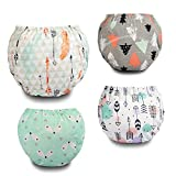 Potty Training Pants Toddler Cotton Training Underwear for Baby Boys-5T