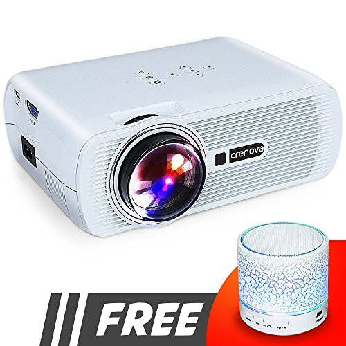 Crenova LED Video Home Projector  Review