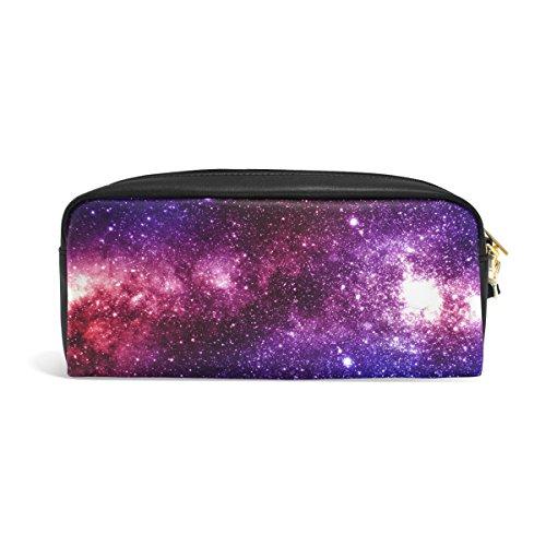 zzkko Universo Galaxy Star de piel con cierre Estuche bolígrafo artículos de papelería bolsa...