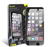 Aduro iPhone 6 / 6S Tempered Glass Screen Protector Shatterguardz Anti-Scratch, Anti-Fingerprint Coating, Ultra-Sensitive Touch Tech for Apple iPhone 6 / 6S