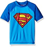 Warner Bros. Toddler Boys' Superman Rashguard, Blue, 2T