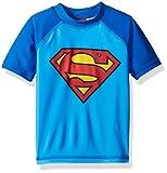 Warner Bros.. Toddler Boys' Superman Rashguard, Blue, 2T