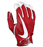Nike Adult Vapor Knit 2 Receiver Gloves 2017 (Red/White, X-Large)