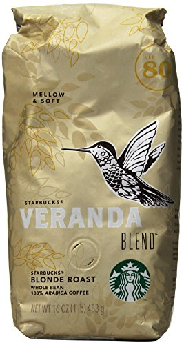 Starbucks Veranda Blend Whole Bean Coffee (1lb)