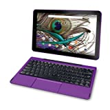 2018 Newest Premium High Performance RCA Galileo 11.5' 2-in-1 Touchscreen Tablet PC Intel Quad-Core Processor 1GB RAM 32GB Hard Drive Webcam Wifi Bluetooth Android 6.0-Purple