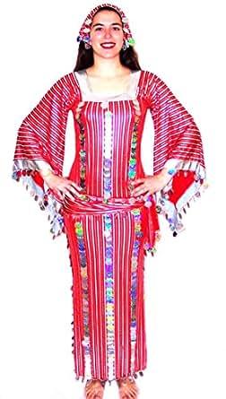 Amazon.com: Women Belly Dance Folkloric Baladi Egyptian ...