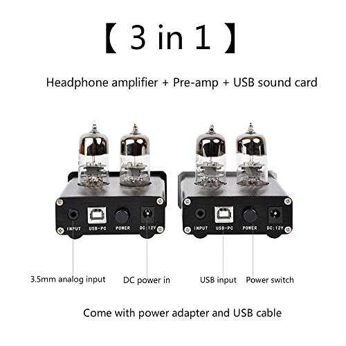 Tube Preamp With Dac