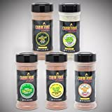 Caribeque Seasoning & Rub Company (5 Flavor Combo Pack)