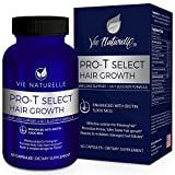 Vie Naturelle Hair Loss Vitamins Supplement for Fast Hair Growth - DHT Blocker Pills with 5,000mcg Biotin for Women and Men - 30 Day Supply