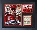 """Legends Never Die """"Dale Earnhardt Sr. and Dale Earnhardt Jr. Framed Photo Collage, 11 x 14-Inch"""
