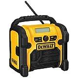DEWALT 20V MAX/18V/12V Jobsite Radio, Compact (DCR018)