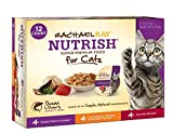 Rachael Ray Nutrish Natural Wet Cat Food, Variety Pack, Fish Lovers, 2.8 oz tub by Rachael Ray Nutrish