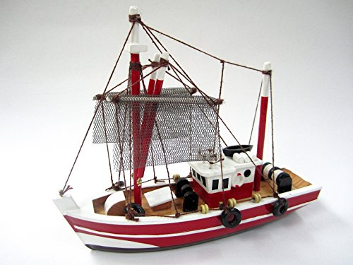 Fishing Magician Starter Boat Kit: Build Your Own Fishing Boat Wooden Model Ship by Tasma by Tasma