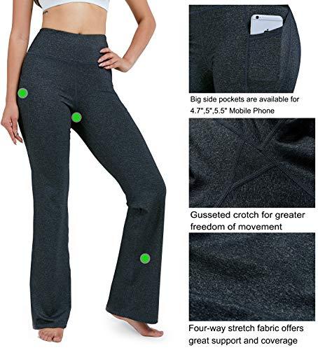 Wide leg yoga pants with pockets