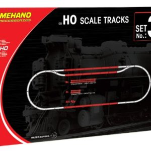 "Mehano ""Additional Track Set 3  (40 Pcs) Ho Scale Tracks Set 3 – Made in Slovenia 51Toek1DYgL"