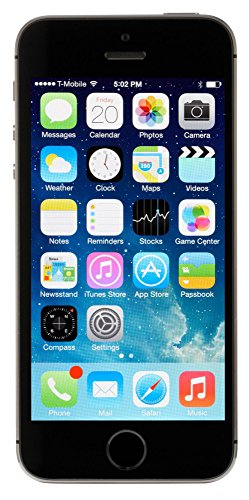 Apple iPhone 5S, GSM Unlocked, 64GB - Space Gray (Renewed)
