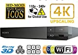Sony BDP-S6500 Upgraded Multi-Region Zone Free Blu-Ray DVD Player