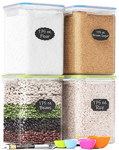 Extra Large Plastic Food Storage Containers