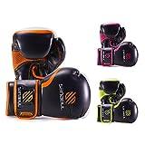 Essential Boxing Gloves Orange 8-oz