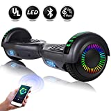 EPCTEK 6.5' Hoverboard for Kids Adults - UL2272 Certified Self Balancing Hover Board w/Bluetooth Speakers, LED...