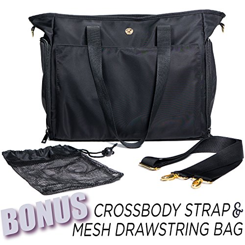 Zohzo Lauren Breast Pump Bag - Portable Tote Bag Great for Travel or Storage – Includes Padded Laptop Sleeve - Fits Most Major Pumps Including Medela and Spectra... 15 Fashion Online Shop gifts for her gifts for him womens full figure