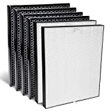 AIRDOCTOR Genuine Filter Replacement Two-Year Combo Pack Includes Two (2) UltraHEPA Filters & Four (4) Carbon/Gas Trap/VOC Filter