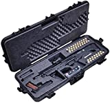 Case Club Pre-Made Waterproof Kel-Tec KSG and Standard Manufacturing DP-12 Shotgun Case with Accessory Box and Silica Gel to Help Prevent Gun Rust
