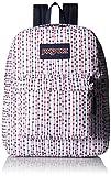 JanSport Superbreak Backpack - Durable for School & Travel, with Padded Shoulder Straps - (JanSport Navy Front Row Spot)