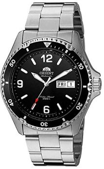 Orient Men's FAA02001B9 Mako II Analog Automatic Hand-Winding Silver Watch