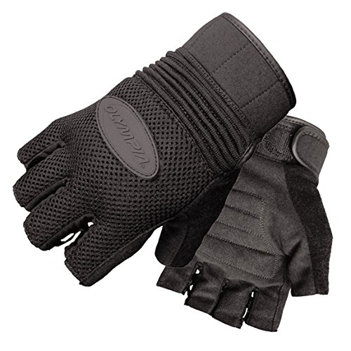 Olympia 757 Airforce Fingerless Gel Classic Motorcycle Gloves