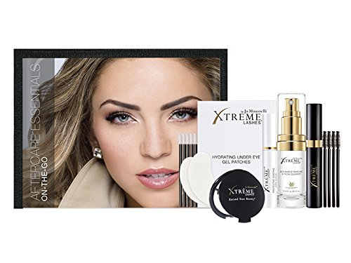 51UNlvdru2L 8 pc. kit includes travel-friendly essentials for eyes and lashes. Compatible with Xtreme Lashes® Eyelash Extensions.