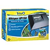 Tetra Whisper AP150 Aquarium Air Pump, for Deep Water Applications