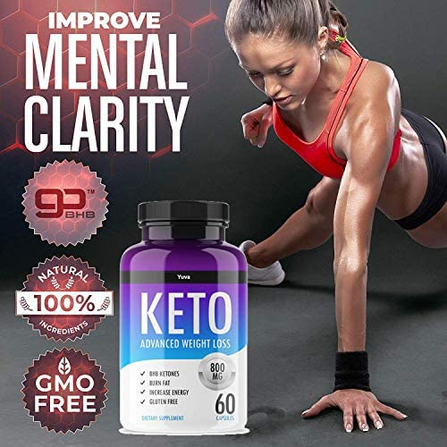 QFL Yuva/QFL Keto Diet Pills-exogenous ketones - Utilize Fat for Energy with Ketosis - Boost Energy & Focus, Manage Cravings, Support Metabolism - Keto BHB Supplement for Women and Men - 90 Day Supply 5