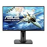 "ASUS VG258Q 24.5"" Full HD 1080P 144Hz 1ms DP HDMI DVI Eye Care Gaming Monitor with Adaptive Sync, Black"