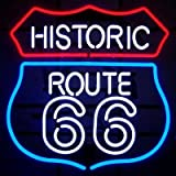 Neonetics 5RT66N Historic Route 66 Neon Sign