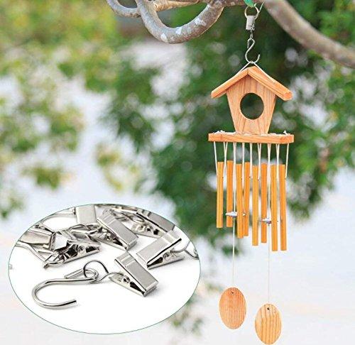 JM-capricorns 120pcs Party Light Hanger,Gutter Hangers for Lights,Curtain  Clips Hanging Clamp Hooks Hanger Clips for Curtain Photos String Party