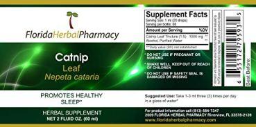 Florida-Herbal-Pharmacy-Catnip-Nepeta-cataria-TinctureExtract-2-oz