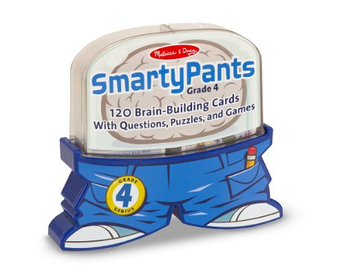 Melissa & Doug 5075 Smarty Pants- 4th Grade Card Set