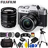FUJIFILM X-T20 Mirrorless Digital Camera with 18-55mm Lens (Silver) 16542622 - Ultimate Bundle