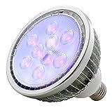 ADJ Products BLB18W,E27 Screw Base UV PAR38 LAMP,18W (