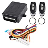 X AUTOHAUX Universal Car Remote Central Kit Door Lock Vehicle Keyless Entry System DC 12V