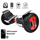 EVERCROSS Hoverboard Phantom Self Balancing Scooter 2 Wheel Board - UL2272 Certified, All-Terrain Bluetooth&App Three Speed Mode 10