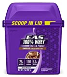 EAS 100% Pure Whey Protein Powder, Chocolate, 2lb (Packaging May Vary) by EAS