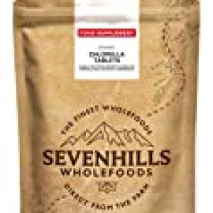 Sevenhills Wholefoods Organic 500mg Broken Cell Wall Chlorella 500 Tablets by Sevenhills Wholefoods