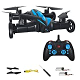 MASALING RC Quadcopter Drone Flying Car - Remote Control Helicopter Drone Toys for Kids with 3D Flip Headless Mode One-Key Return Bonus Battery Included