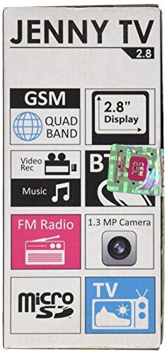 BLU Jenny TV 2.8 T276T Unlocked GSM Dual-SIM Cell...